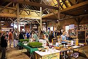 Exhibitors at the Martha's Vineyard Living Local Harvest Fest, West, Tisbury, Massachusetts, USA