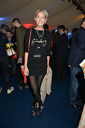 The HON.SOPHIA HESKETH at the World's Greatest Quiz Night in aid of the Quintessentially Foundation and Dimbleby Cancer Care held at the Riverside Parliament Panorama marquee at St Thomas' Hospital, Westminster Bridge Road, Londonon 15th September 2015.