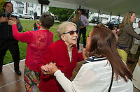 Jen and Tony's Wedding Day. Dancing up a Storm ~ Reception.  York, Maine.  ©2015 Karen Bobotas Photographer