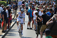 Arrival, Alexander Kristoff (NOR - UAE Team Emirates), during the 105th Tour de France 2018, Stage 7, Fougeres - Chartres (231km) on July 13th, 2018 - Photo Kei Tsuji / BettiniPhoto / ProSportsImages / DPPI