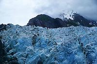 North Sawyer Glacier (close-up), Tracy Arm Fjord