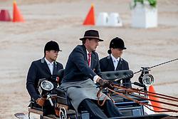 Voutaz Jerome, SUI, Belle du Peupe CH, Flore CH, Holliday, Leon<br /> World Equestrian Games - Tryon 2018<br /> © Hippo Foto - Dirk Caremans<br /> 23/09/2018