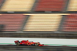 February 20, 2019 - Barcelona, Spain - 05 VETTEL Sebastian (ger), Scuderia Ferrari SF90, action during Formula 1 winter tests from February 18 to 21, 2019 at Barcelona, Spain - Photo  /  Motorsports: FIA Formula One World Championship 2019, Test in Barcelona, (Credit Image: © Hoch Zwei via ZUMA Wire)