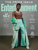 May 04, 2021 - US: Lil Nas X Covers Entertainment Weekly The Pride Issue