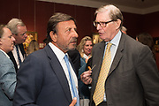 ROCCO FORTE, SIR BILL CASH, Restoration Heart A memoir by William Cash. Philip Mould and Co. 18 Pall Mall. London. 10 September 2019