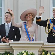 NLD/Den Haag/20100921 - Prinsjesdag 2010, Prinses Laurentien, Prins Constatijn, Prinses Maxima, Prins Willem - Alexander