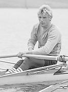 Nottingham. United Kingdom. <br /> BEL LM1X. Wim van BELLEGHEM, Nottingham International Regatta, National Water Sport Centre, Holme Pierrepont. England<br /> <br /> 31.05.1986 to 01.06.1986<br /> <br /> [Mandatory Credit: Peter SPURRIER/Intersport images] 1986 Nottingham International Regatta, Nottingham. UK