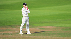 Somerset captain Chris Rogers looks on.  - Mandatory by-line: Alex Davidson/JMP - 23/08/2016 - CRICKET - Cooper Associates County Ground - Taunton, United Kingdom - Somerset v Hampshire - Specsavers County Championship Division One