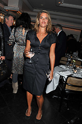 TRACEY EMIN at a dinner to celebrate the 30th anniversary of Le Caprice, Arlington Street, London SW1 on 4th October 2011.