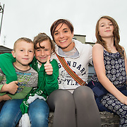 08.06.2016        <br /> Stepping out to support the Limerick 2020 Bid and to watch Scotty Knemeyer's spectacular flyboard show over the River Shannon at Clancy Strand were, Evan, Aoibheann, Iosla and Shona Breathnach, Mayorstone Limerick. Picture: Alan Place
