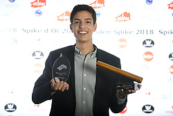 October 20, 2018 - Saint Trond, France - Jonathan Saccor Espoir Male Hope masculin Belofte mannen pictured during the ceremony of the Golden Spike Athletics Awards 2018 on October 20, 2018 in Sint-Truiden, Belgium, 20/10/2018 (Credit Image: © Panoramic via ZUMA Press)