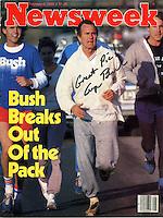 Newsweek cover, 1980 - photograph by Owen Franken