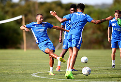 Liam Sercombe of Bristol Rovers in action as Bristol Rovers take part in training on their first day in Portugal - Mandatory by-line: Robbie Stephenson/JMP - 18/07/2017 - FOOTBALL - Colina Verde Golf & Sports Resort - Moncarapacho, England - Sky Bet League One
