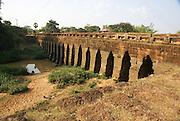 12th century Bridge of Kampong Kdei (Siem Reap Province) Cambodia