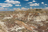 While driving the Calypso Trail near Terry, Montana, I passed by this area of rust-colored badlands.