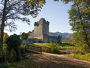 Ross Castle on Lough Leane and the Lakes of Killarney, Kerry, Ireland.<br /> Photo: Don MacMonagle