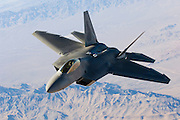 Red Flag 2007-2.1 (Red Flag #2 for fiscal year 2007, period one) the first Red Flag in which Lockheed F-22A Raptor's took part. Nellis AFB, Nevada.
