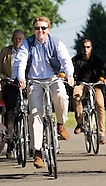 King Willem-Alexander joins a leg of  the 50th edition of the Cycling 4Days of Assen, 07-07-2015