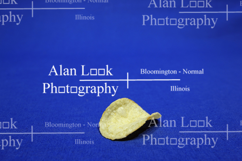 02 February 2016:   Potato Chip(s) on a blue background