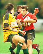 Old Deer Park, Richmond. London Welsh vs Henley Hawks  Intersport<br /> <br /> National League Division 1<br /> London Welsh v Henley<br /> <br /> London Welsh Full back 'Matt Vines' joins the line.