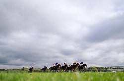 Sweet Madness ridden by Gemma Tutty (right) on their way to winning the Join Racing TV Now Nursery at Nottingham Racecourse. Picture date: Wednesday October 13, 2021.