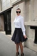 Miranda Kerr leaving Vitamin store Azzedine Alaia ' in Paris<br /> ©Exclusivepix Media