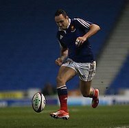 Lucas Blanc during the 2015 Under 20s 6 Nations match between England and France at the American Express Community Stadium, Brighton and Hove, England on 20 March 2015.