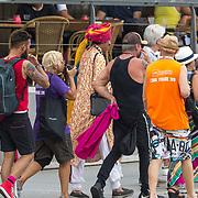NLD/Amsterdam/20180604 - Gaypride 2018, Prins Manvendra Singh Gohil / Prince Manvendra Singh Gohil, Prince of Rajpipla India