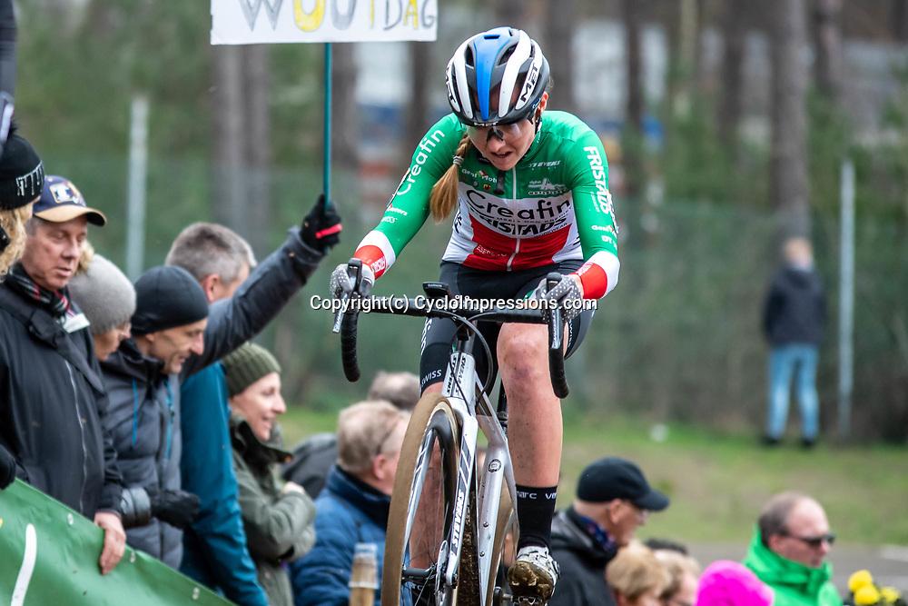 26-12-2019: Cycling: CX Worldcup: Heusden-Zolder: Italian champion Eva Lechner