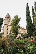 Church of Santa Maria de Alhambra, Alhambra, Granada, Andalucia, Spain