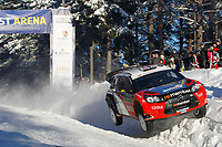 MOTORSPORT - WORLD RALLY CHAMPIONSHIP 2011 - RALLY SWEDEN / RALLYE DE SUEDE - 10 TO 13/02/2011 - KARLSTAD (SWE) - PHOTO : DPPI - <br /> 11 PETTER SOLBERG / CHRIS PATTERON - CITROEN DS3 WRC - ACTION
