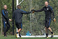 US men's soccer team training - 30 Aug 2017