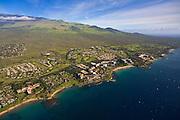 Aerial, Wailea Resort, Maui, Hawaii