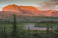 Sofa Mountain, Sunrise, Waterton Lakes National Park
