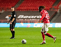 Football - 2020 / 2021 EFL Carabao Cup - Round Three - Bristol City vs  Aston Villa<br />  <br /> Kasey Palmer of Bristol City in action during todays match, at Ashton Gate.<br />  <br /> COLORSPORT/SIMON KING