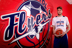 New signing for the Bristol Flyers, Michael Vigor - Mandatory by-line: Robbie Stephenson/JMP - 05/09/2016 - BASKETBALL - SGS Wise Arena - Bristol, England - Bristol Flyers - British Basketball League - Bristol Flyers New Signings -