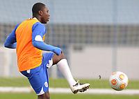 20091116: LISBON, PORTUGAL - American soccer star Freddy Adu training with his team Belenenses. Freddy Adu is on loan from SL Benfica. PHOTO: CITYFILES