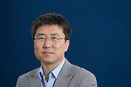 South Korean economist and journalist Ha-Joon Chang, pictured at the Edinburgh International Book Festival where he talked about the world economic crisis. The three-week event is the world's biggest literary festival and is held during the annual Edinburgh Festival. The 2010 event featured talks and presentations by more than 500 authors from around the world.