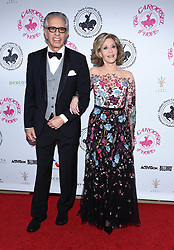 October 9, 2016 - Los Angeles, California, USA - 10/8/16.Jane Fonda and Richard Perry at The 2016 Carousel of Hope Ball..(Los Angeles, CA) (Credit Image: © Starmax/Newscom via ZUMA Press)