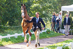 Chester Weber, (USA), Boris W, Boy W, Para, Splash, Uniek - Horse Inspection Driving - Alltech FEI World Equestrian Games™ 2014 - Normandy, France.<br /> © Hippo Foto Team - Leanjo de Koster<br /> 25/06/14