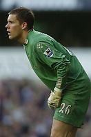 Photo: Olly Greenwood.<br />Tottenham Hotspur v Watford. The Barclays Premiership. 17/03/2007. Watford's Ben Foster