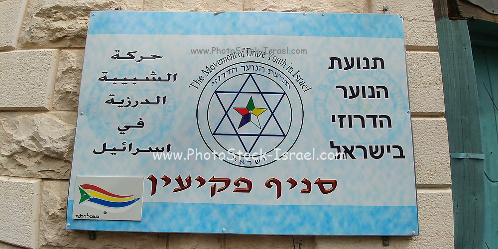 The movement of Druze youth in Israel Peki'in Branch