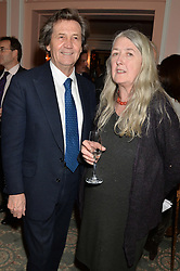 LORD BRAGG and PROF.MARY BEARD at the Oldie Magazine's Oldie of The Year Awards held at Simpson's In The Strand, London on 4th February 2014.