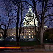 United States Congress House (Capitol) at night