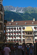 Austria, Innsbruck old city Herzog-Friedrich Strasse
