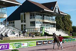 Annika Lykke Risum, (DEN), Aros A Fenris - Horse Inspection - Alltech FEI World Equestrian Games™ 2014 - Normandy, France.<br /> © Hippo Foto Team - Jon Stroud<br /> 25/06/14