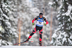 March 9, 2019 - –Stersund, Sweden - 190309 Roberto Piqueras Garcia of Spain competes in the Men's 10 KM sprint during the IBU World Championships Biathlon on March 9, 2019 in Östersund..Photo: Petter Arvidson / BILDBYRÃ…N / kod PA / 92252 (Credit Image: © Petter Arvidson/Bildbyran via ZUMA Press)