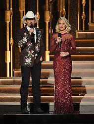 Carrie Underwood, Brad Paisley bei den 50. Country Music Awards in Nashville / 021116<br /> <br /> *** Country Music Awards 2016, Nashville, USA, November 2, 2016 ***