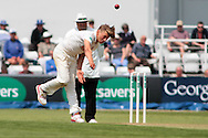 Essex bowler Aaron Beard during the Specsavers County Champ Div 2 match between Northamptonshire County Cricket Club and Essex County Cricket Club at the County Ground, Wantage Road, Abingdon, United Kingdom on 28 May 2016. Photo by Nigel Cole.