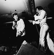 Elvis Presley impersonators and fans